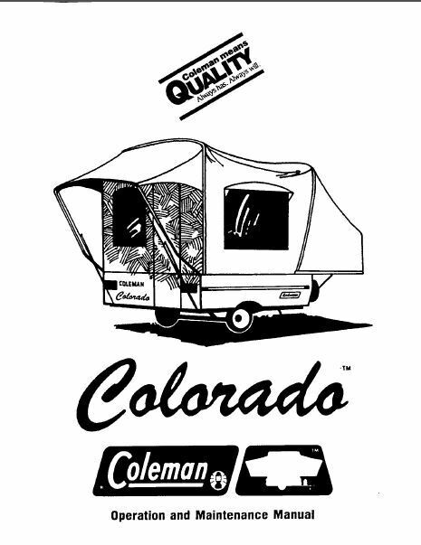1990 lance camper owners manual