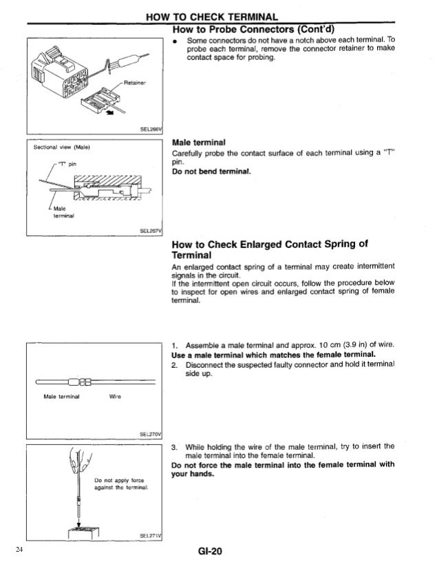 1999 nissan maxima owners manual