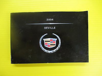 2004 cadillac deville owners manual
