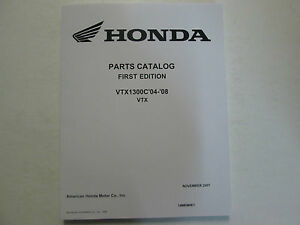 2005 honda vtx1300c owners manual