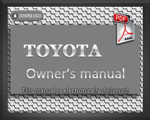 1990 toyota camry owners manual pdf