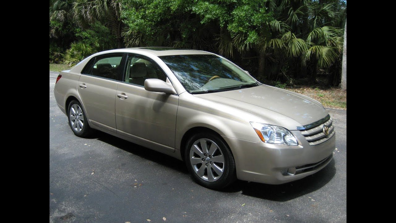 2007 toyota avalon limited owners manual