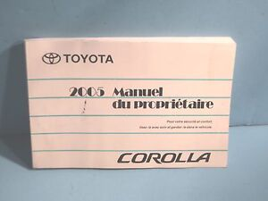 2005 toyota avalon owners manual