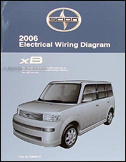 2006 scion xb owners manual