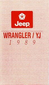 97 jeep wrangler owners manual pdf