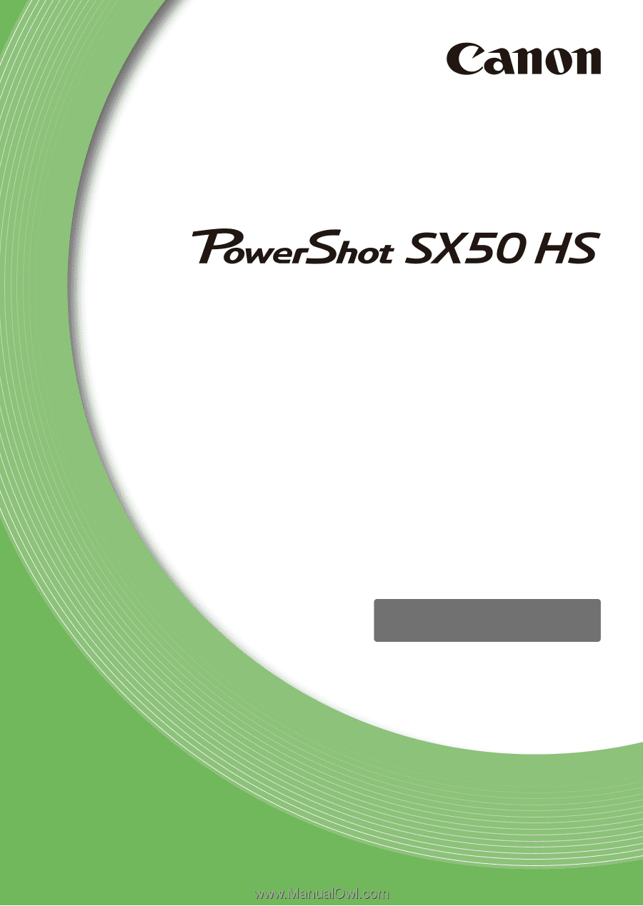canon powershot sx50 hs owners manual