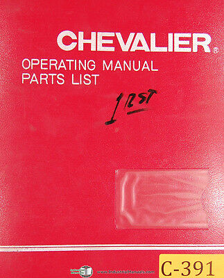 chevalier fsg 618m owners manual