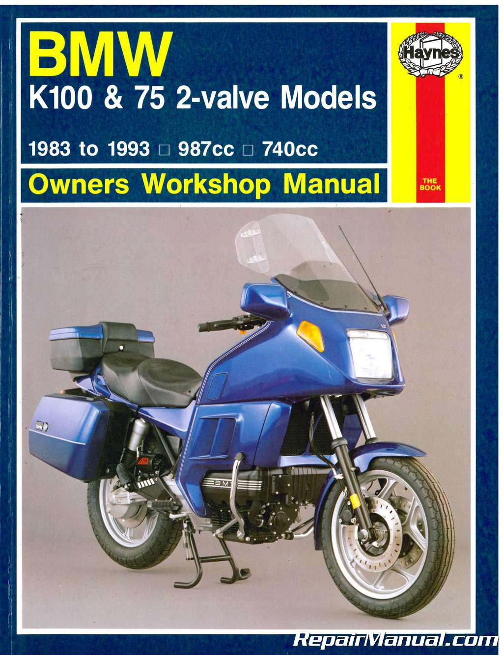bmw k100 owners manual pdf